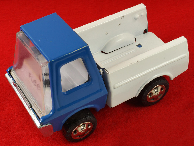 RD26760 Very Rare Fleet Truck CK Kuramochi & Co. , LTD. Japan Blue Cab White Bed DSC09023