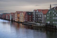 River Nidelva in Trondheim, Norway