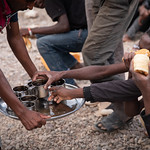 IOM Djibouti - Breakfast, coffee and bread