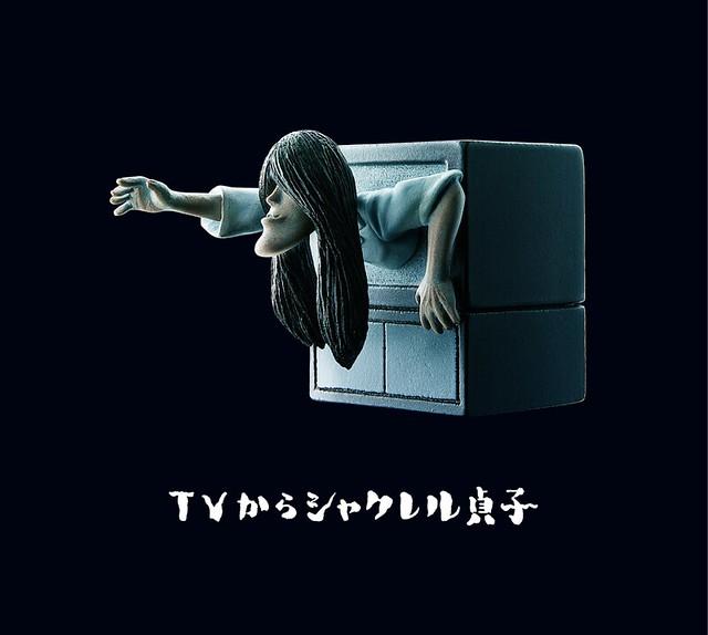 【戽斗貞子】長長的厚到下巴 × 超陰森長髮! 熊貓之穴「シャクレル貞子」帶著怨念強襲而來!!!