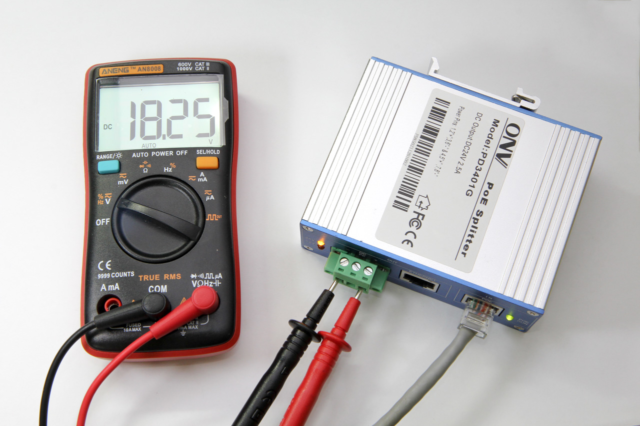 Output voltage of 18V after modifications
