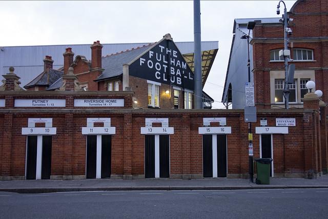 Craven Cottage, Stevenage Road Entrance
