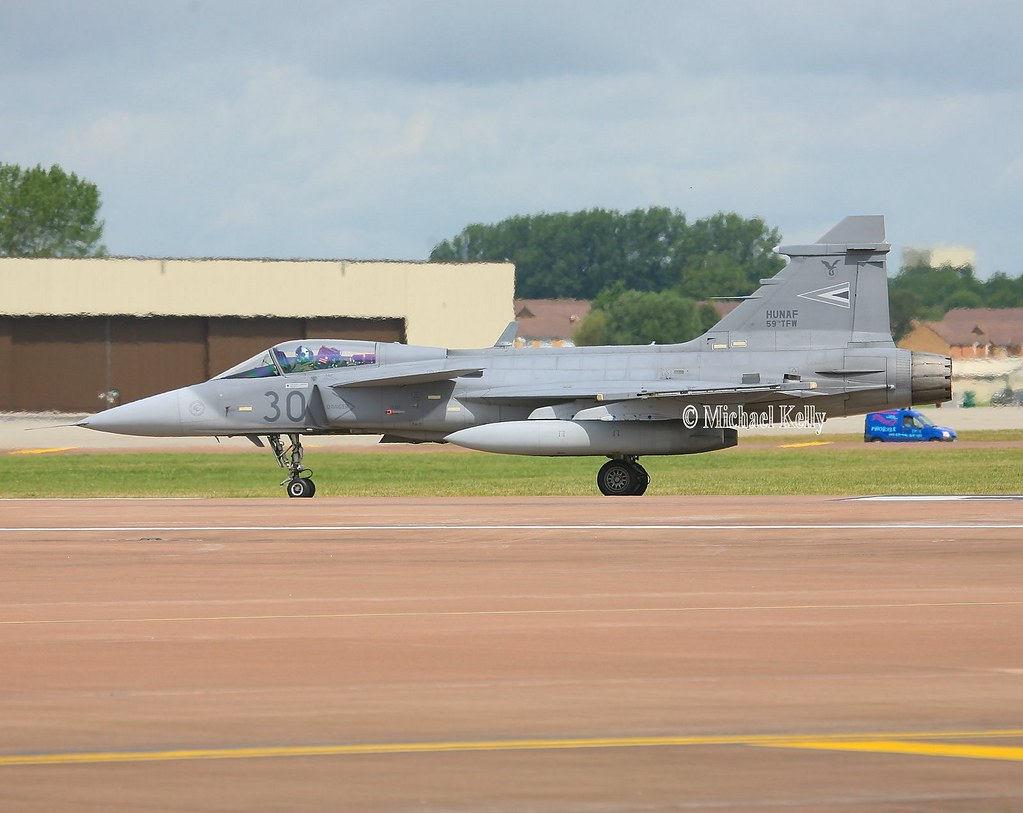 Hungarian Air Force Saab JAS39C Gripen 39301 | 19th July 200… | Flickr