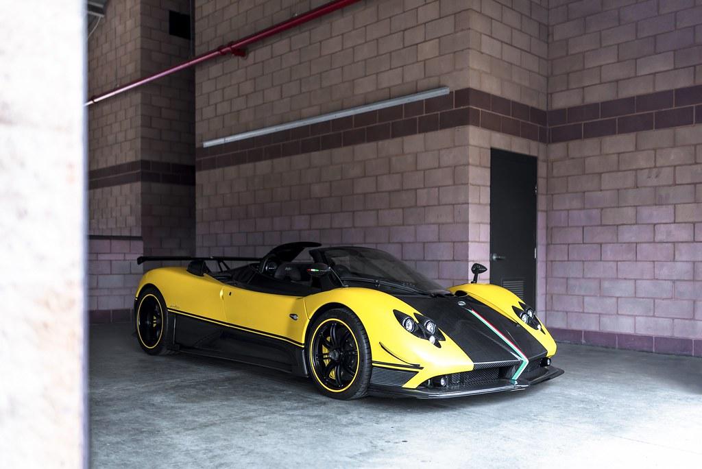 Cinque Roadster Yellow Pagani Zonda Cinque Roadster Axion23 Flickr