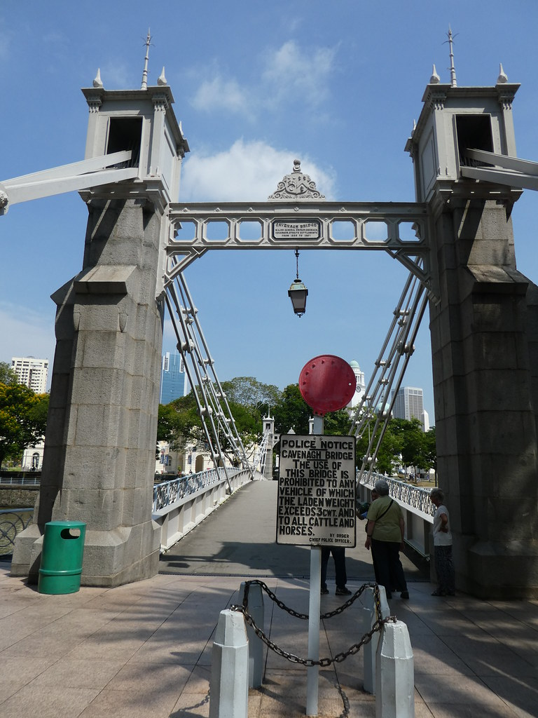 The Cavenagh Bridge, Singapore