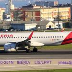 EC-MXU A320-251N IBÉRIA LIS/LPPT jmescSpotterPortugal