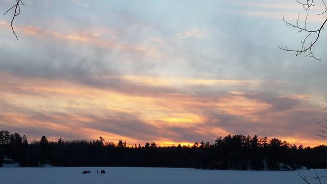 Evening on Joe's Lake.  #huaweip20pro  #3xzoom  #auto