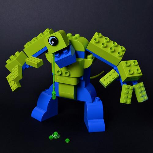 The Hideous Duplo Beast
