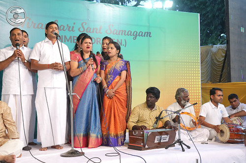 Welcome song by devotees from Coimbatore