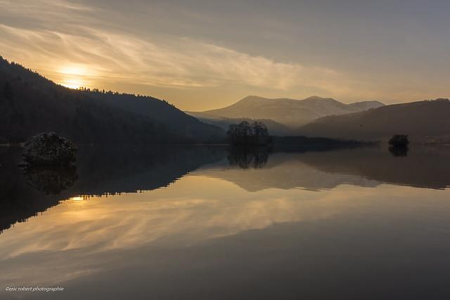 Lac Chambon.