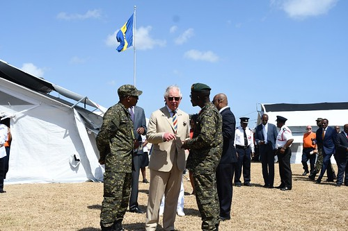 The Prince of Wales tours field medical facility (10) | by barbadosgovernmentinformationservice