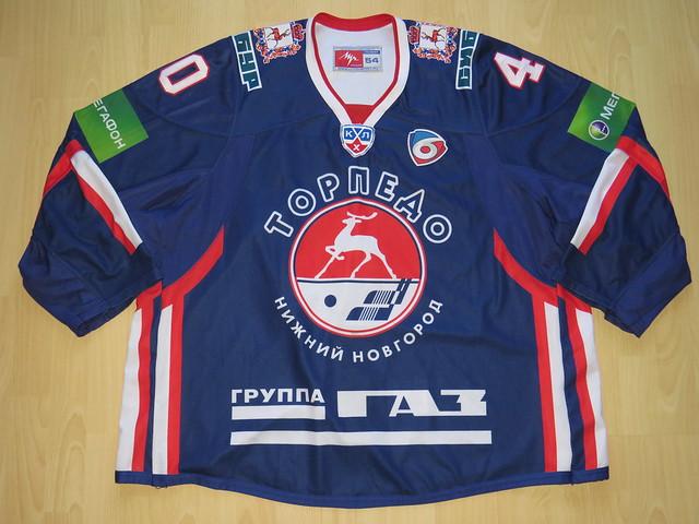 Torpedo Nizhny Novgorod 2013 - 2014 Game Worn Jersey