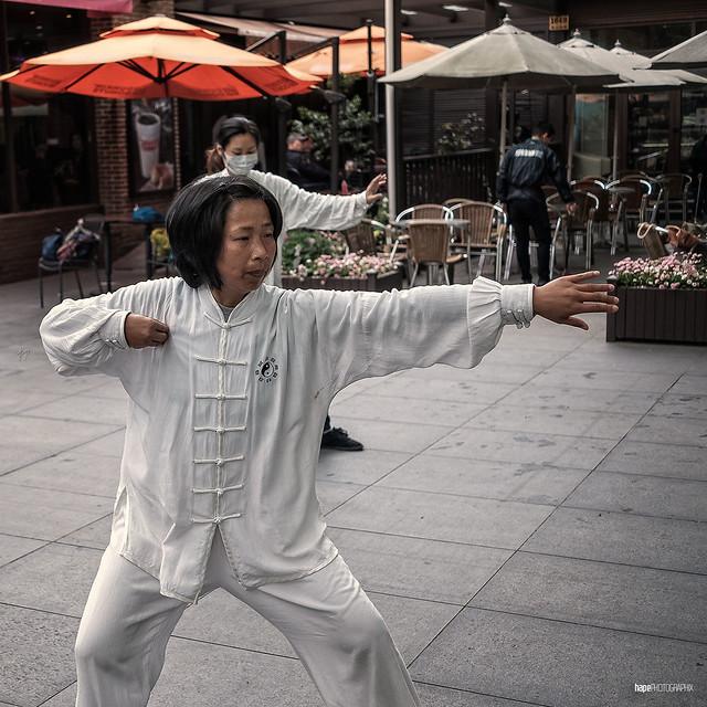Public Tai chi