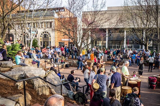Asheville Drum Circle-29
