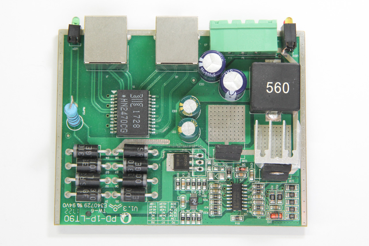 PCB, top side