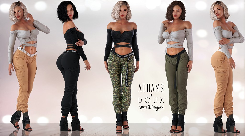 ADDAMS WIP + FLASH GIVEAWAY – ADDAMS & DOUX COLLAB!!