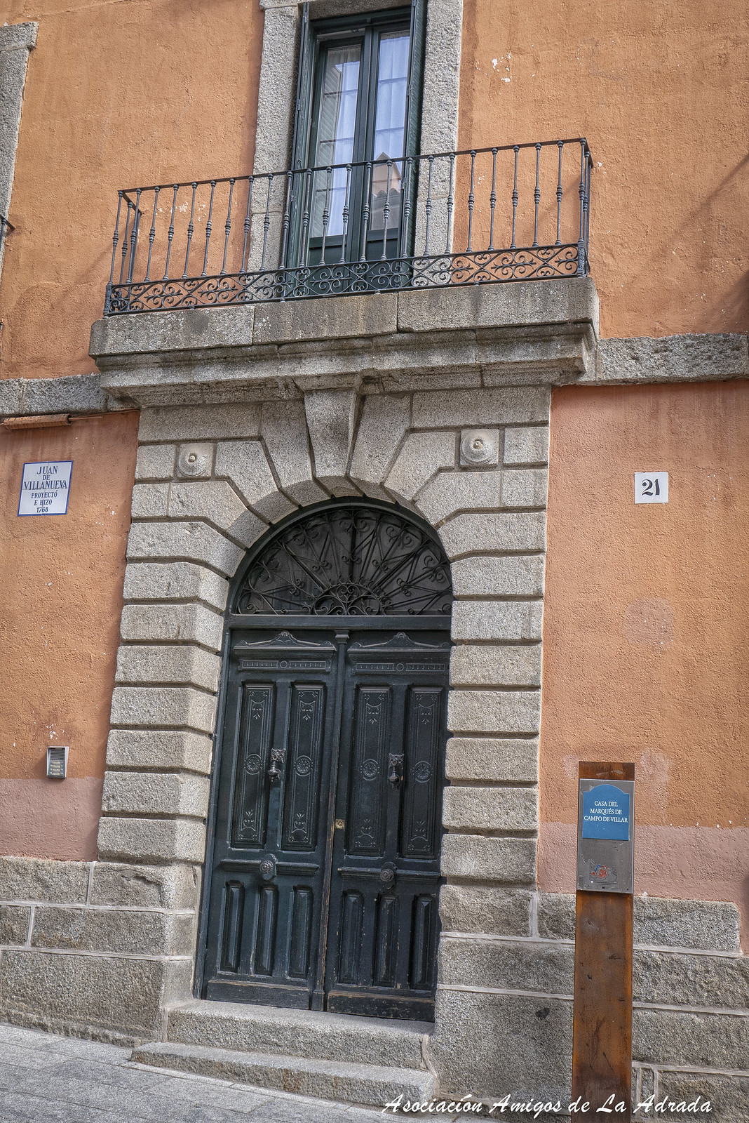 Casas-palacios construidas en época de Carlos III.