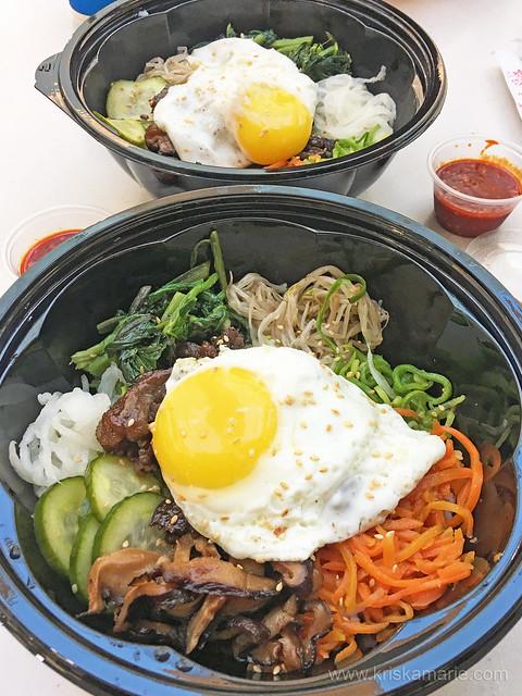 Koryo Korean BBQ's Bibimbap