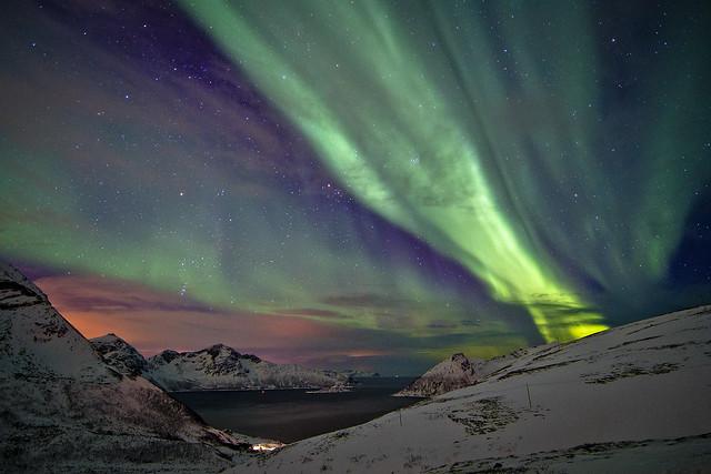 Aurora sobre Rekvik / Aurora above Rekvik