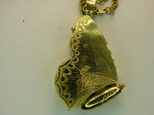 Butterfky brooch