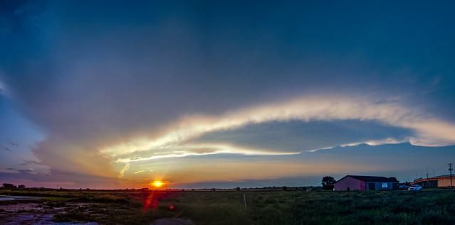 080918 - Pure Nebraska Sunset 001 (Pano)