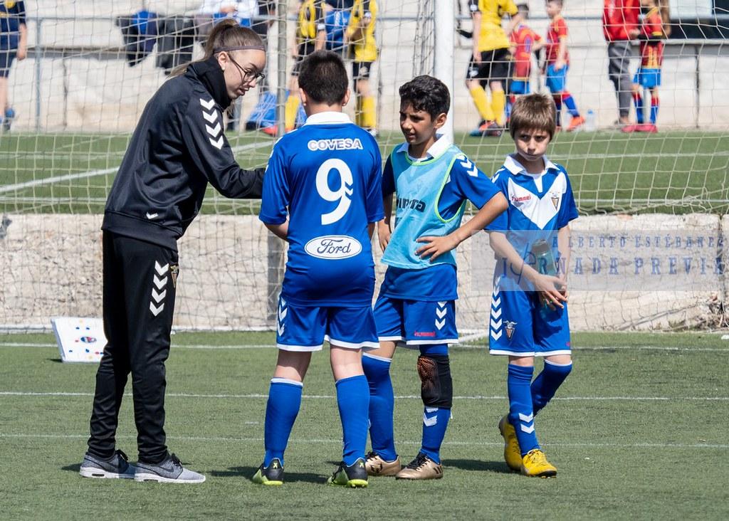Alevín F FF Badalona - At Poble Nou