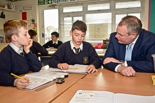 Conor visits St Joseph's School, Alderney | by Conor Burns - Conservative