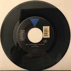 SOUL II SOUL:KEEP ON MOVIN'(RECORD SIDE-A)