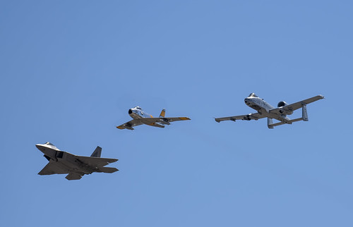 F-22, F-86 and A-10C