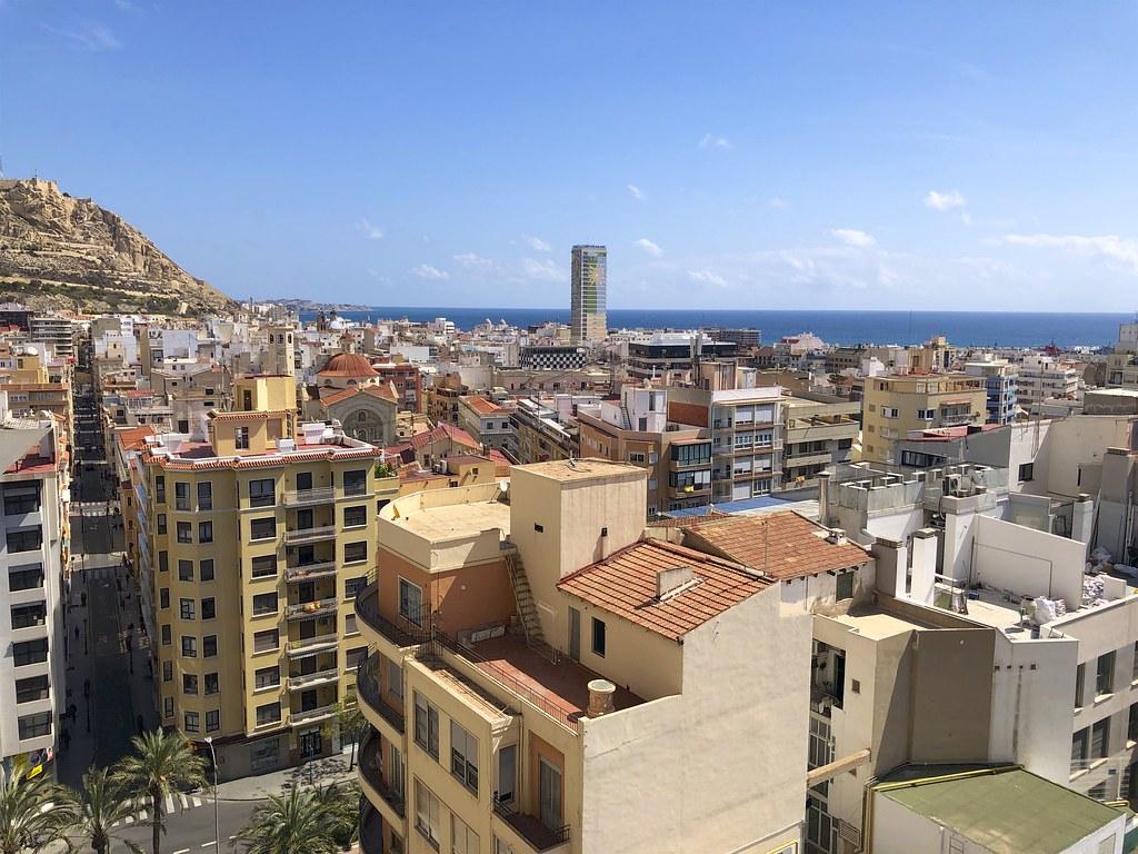CasaTuris Estudio con vistas que enamoran en Centro de Alicante A119