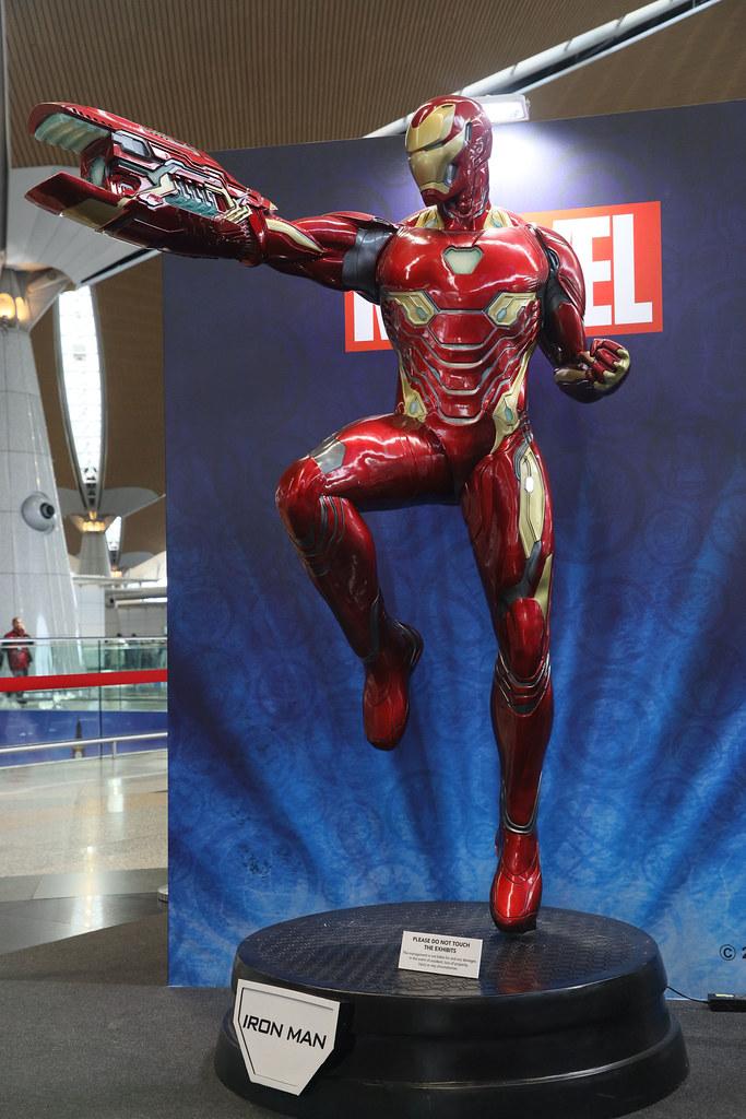 Setup 6  - Ironman Figurine