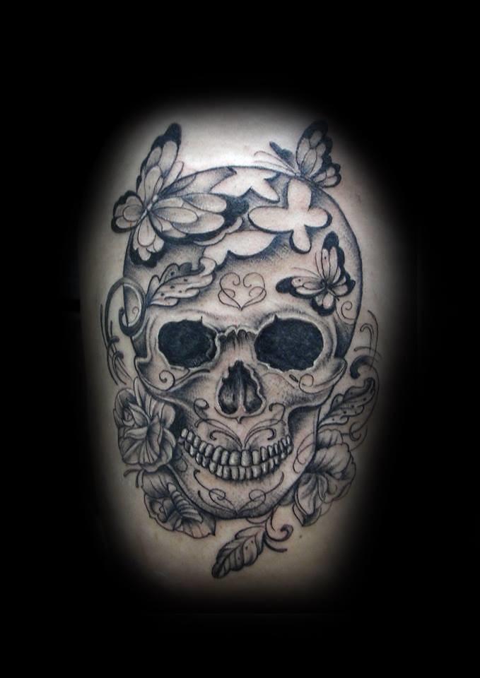 d64107428 Skull tattoo by Ray tutty | tattoo studio | Flickr