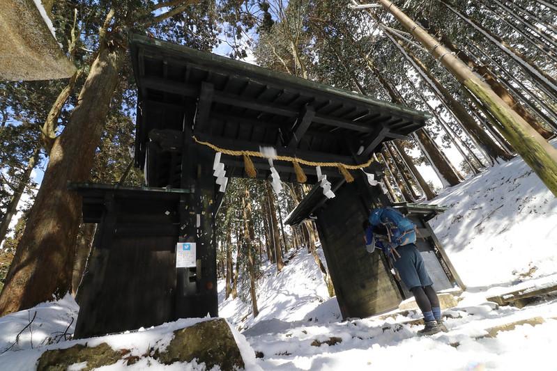 冬の愛宕山