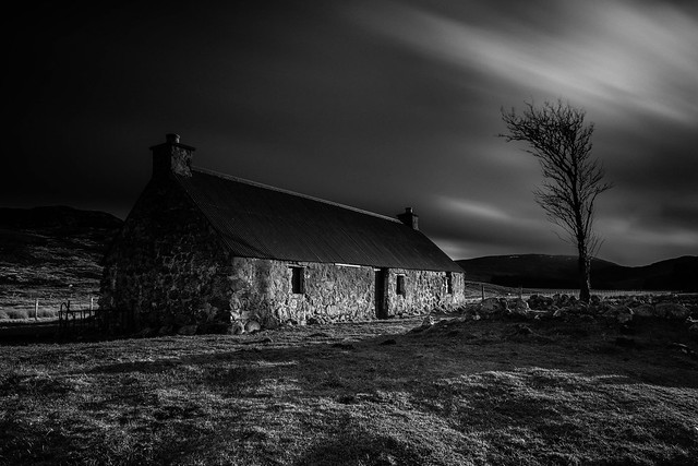 An Old Crofthouse ..
