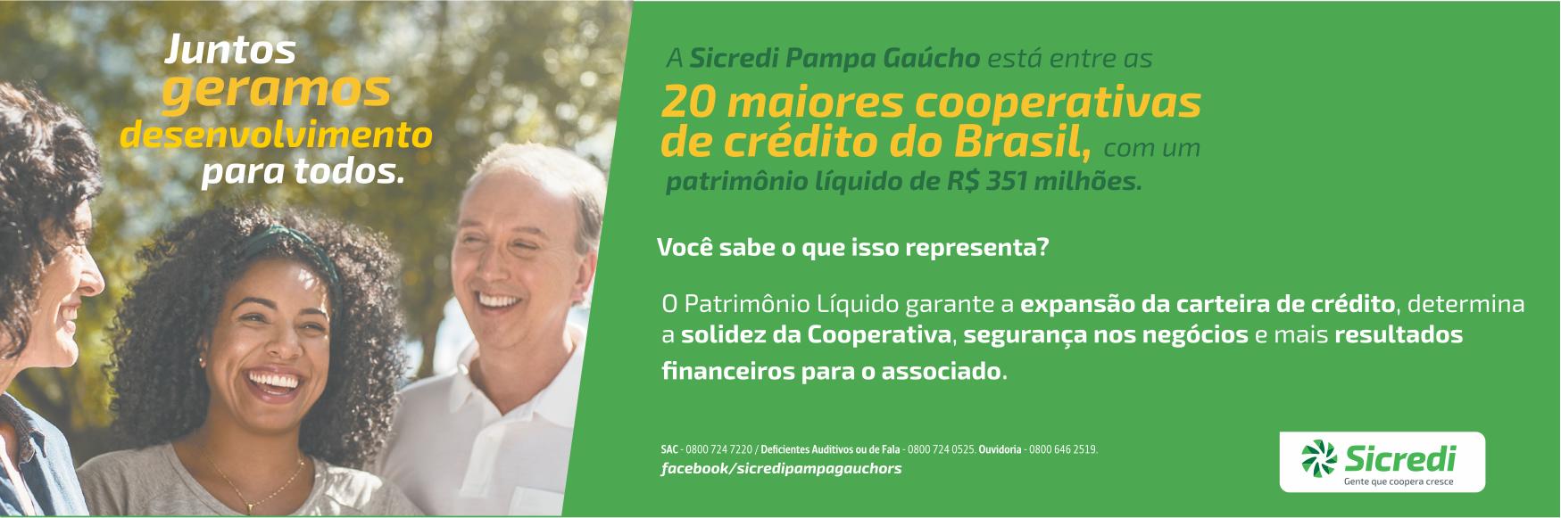 Sicredi Pampa Gaúcho - Juntos geramos desenvolvimento para todos