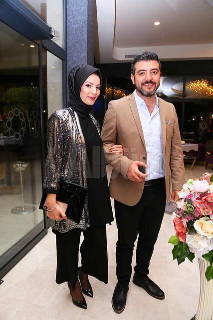 Veysi Aladağ ve eşi.