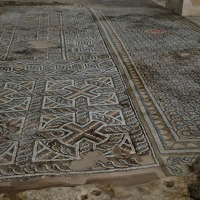 Mosaic floor, Church, Laodicea