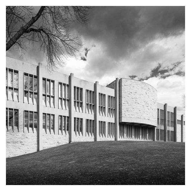 Christiansen Hall, St. Olaf College | Northfield, MN | Edward Sövik