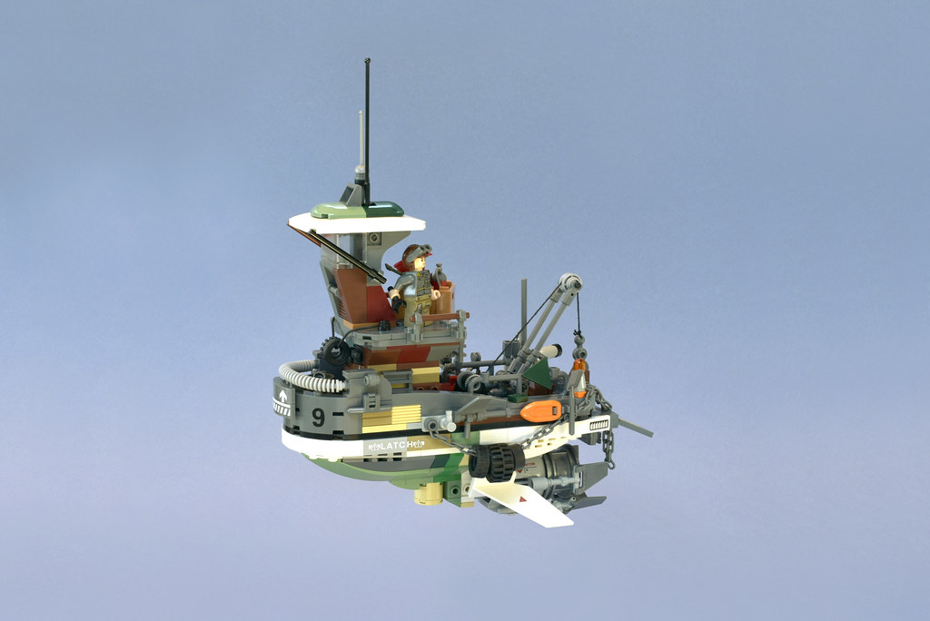 Lego Flying Tug Boat - atana studio