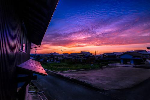 japan kyushu takeo sunset farm colors sony a7iii