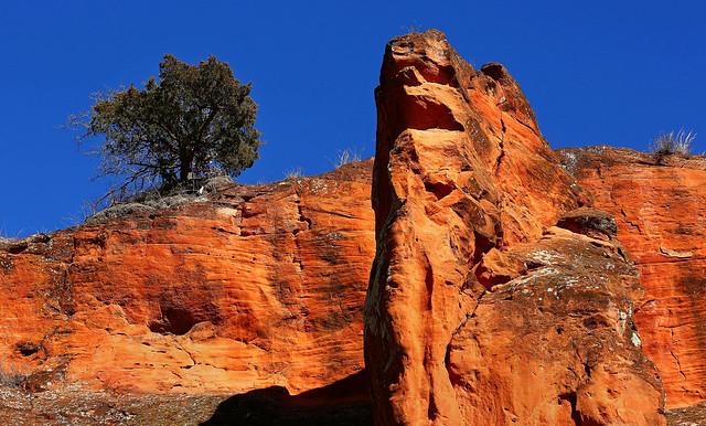 Red Rock Canyon - Hinton, Oklahoma