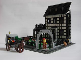 A house   by janhonho