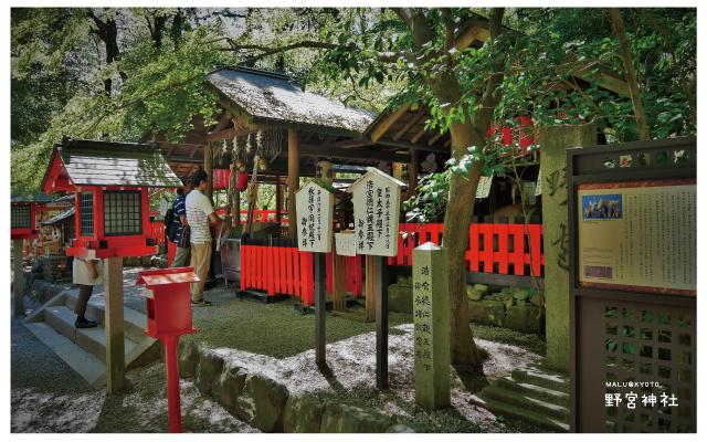 嵐山野宮神社-6
