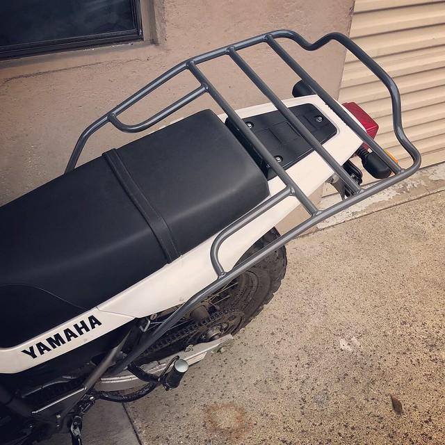 CycleRacks Yamaha TW200 Rear Rack
