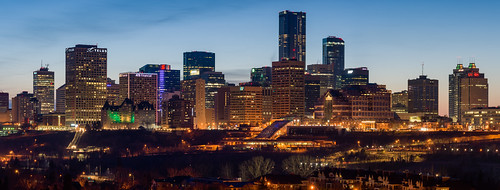 Humboldt Skyline, Edmonton | by WherezJeff
