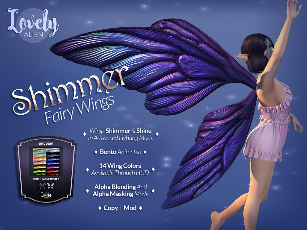 Shimmer Wings For: The Seasons Story
