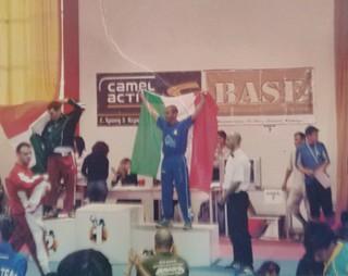 Il terzo posto al Mondiale di Corfù di Montrone