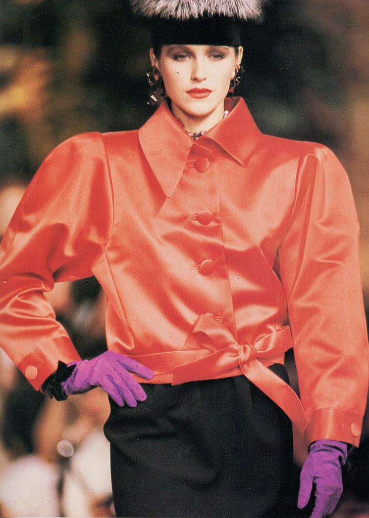d582fb7b470 Yves Saint Laurent Haute Couture A/W 1987-88 | barbiescanner | Flickr