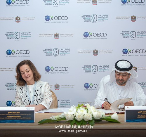 OECD and United Arab Emirates renew partnership to strengthen tax co