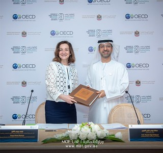 OECD and United Arab Emirates renew partnership to strengthen tax co-operation | by OECDtax